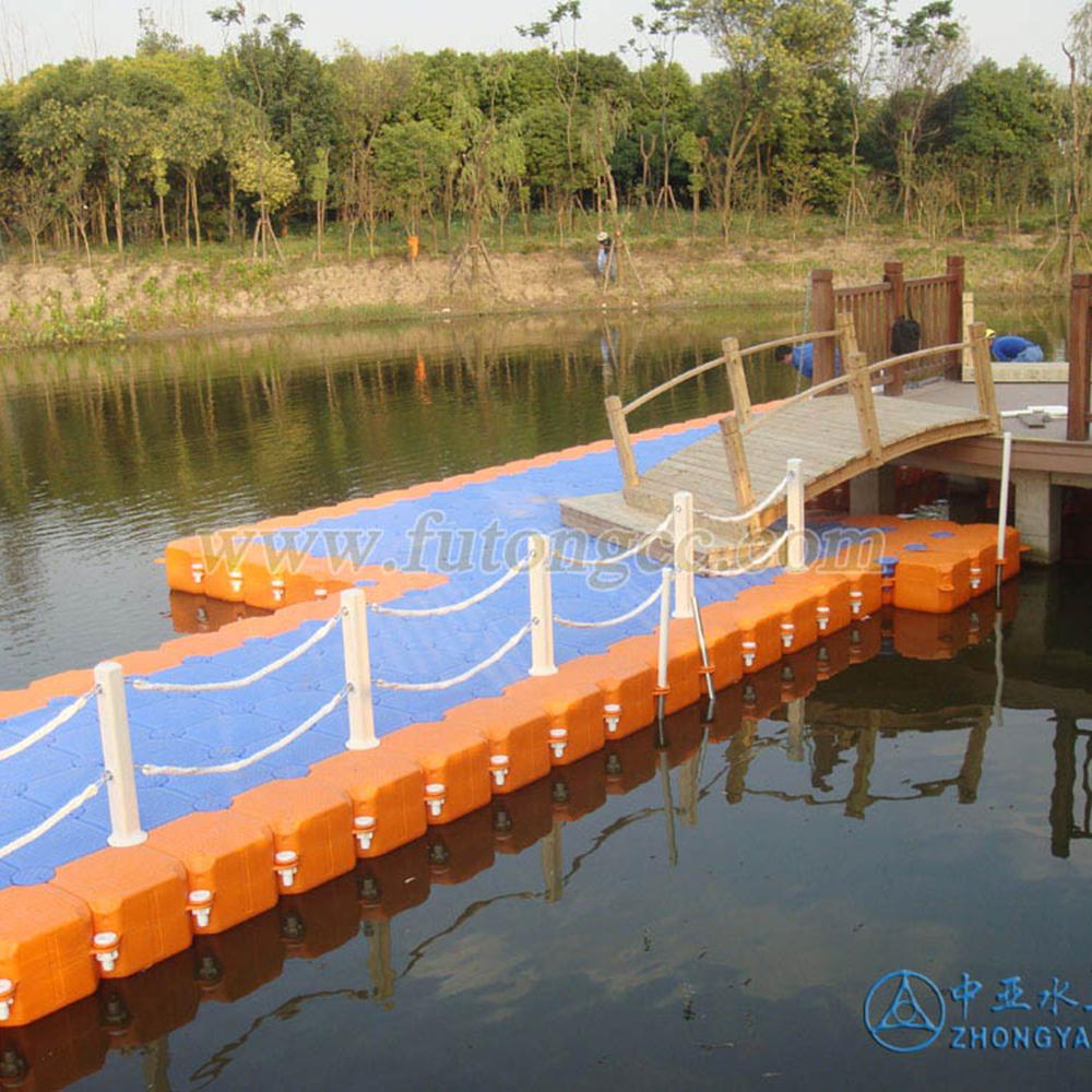 上海顾村公园浮动码头