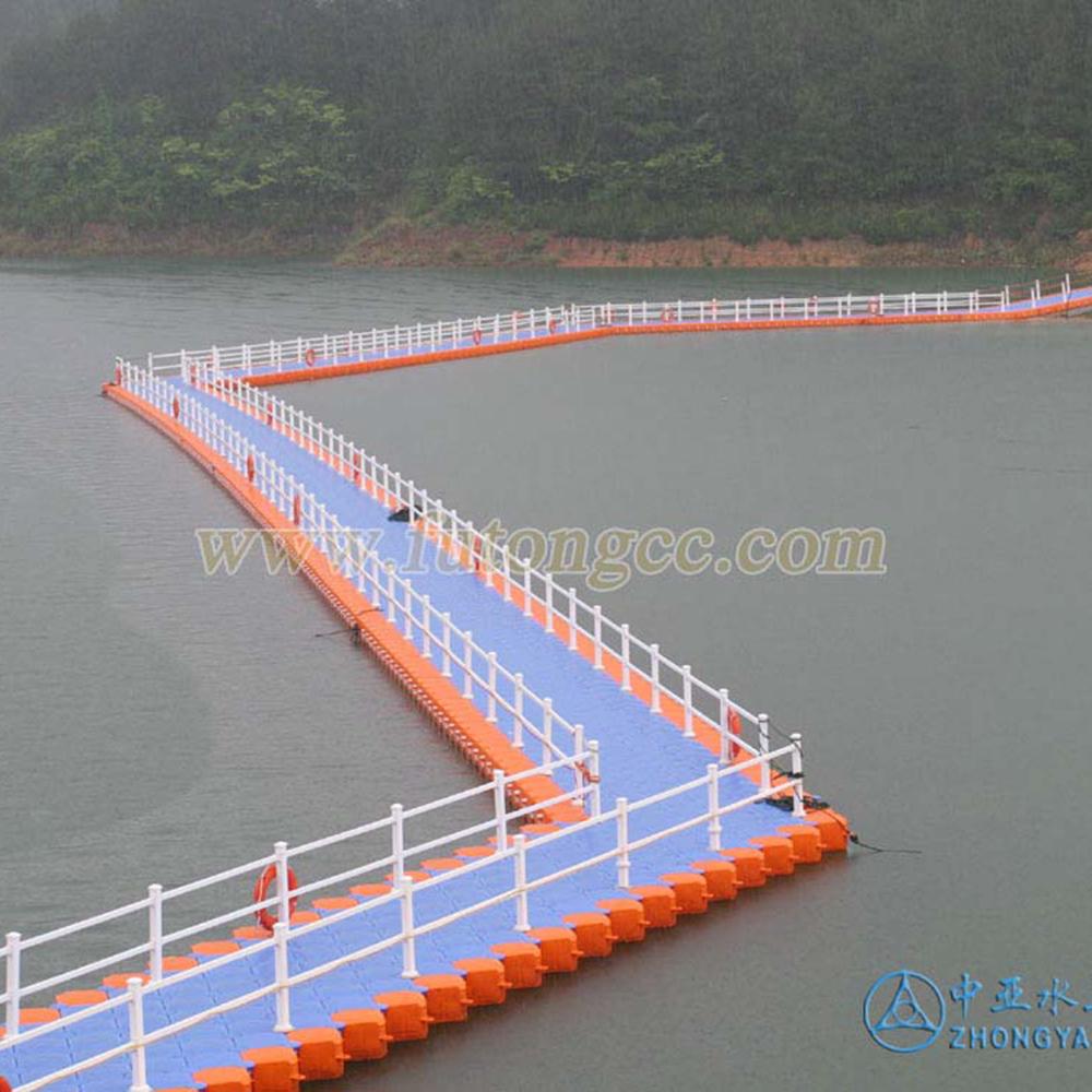 杭州千岛湖浮桥