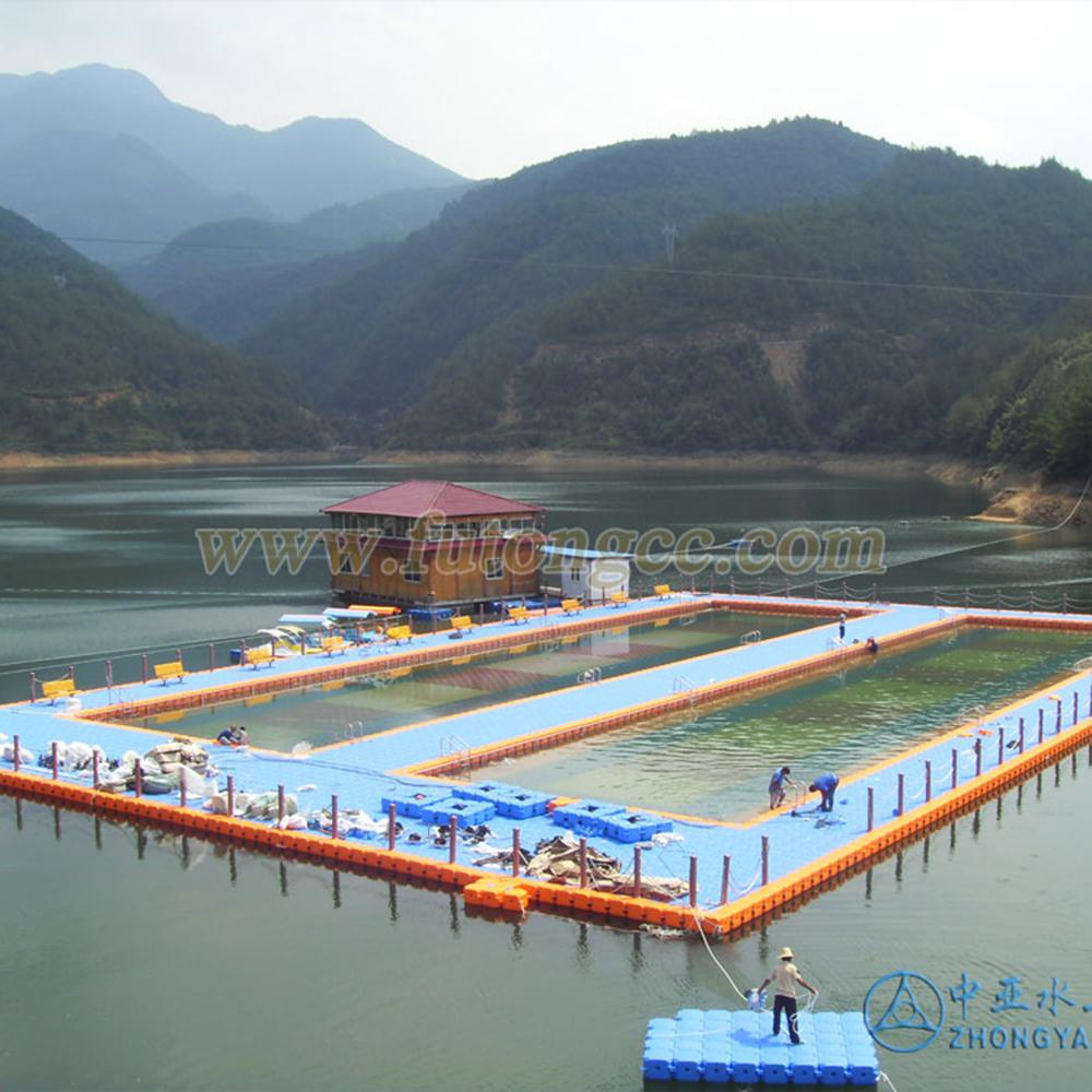 浙江丽水云和仙宫游泳池