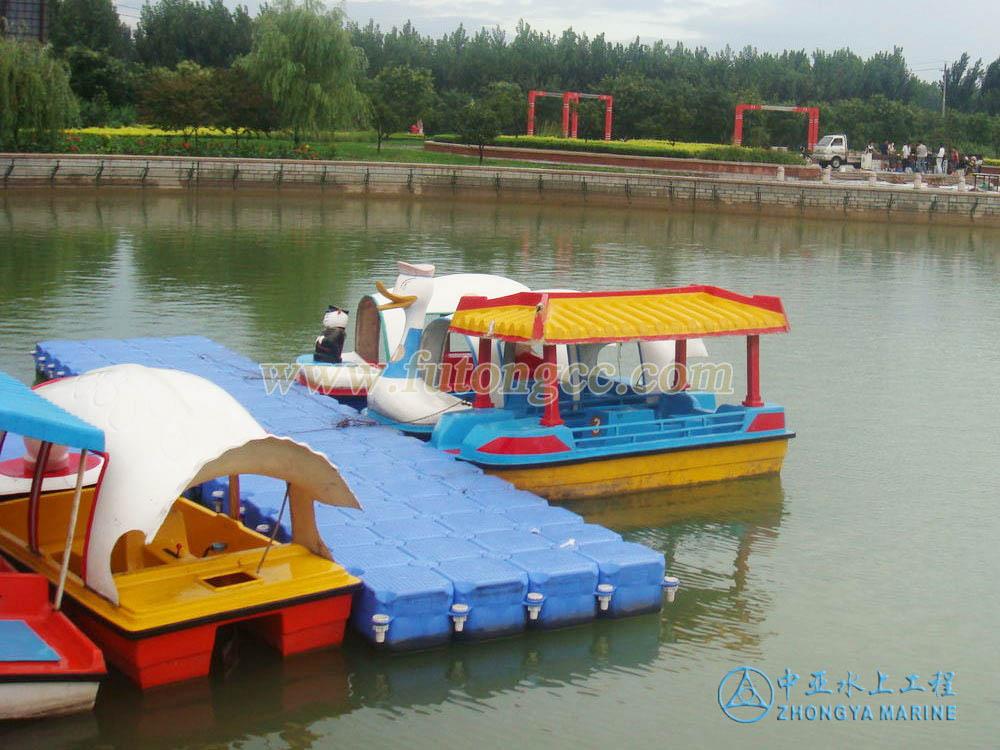 山东孙武湖游船码头
