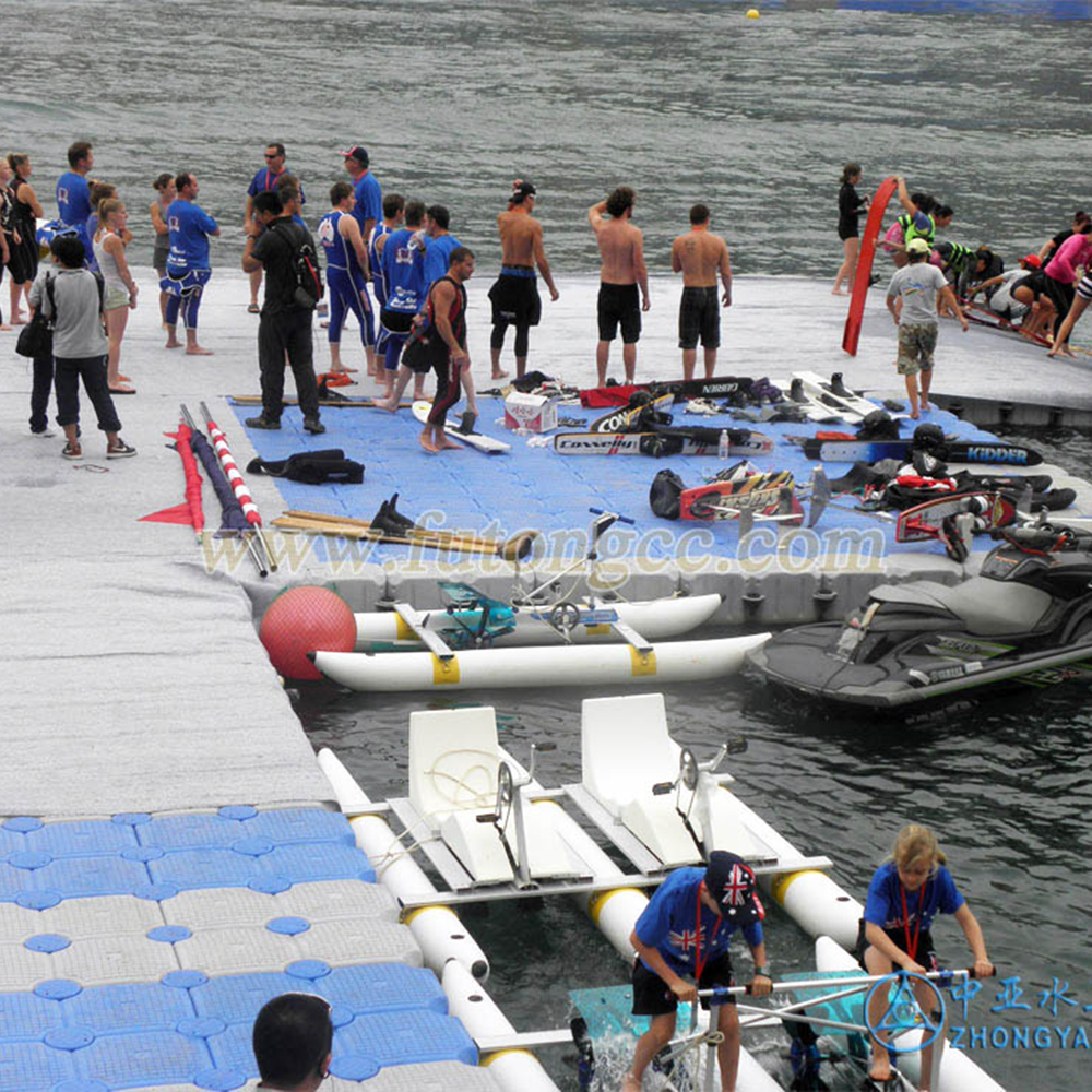 重庆彭水县摩托艇联赛浮动平台