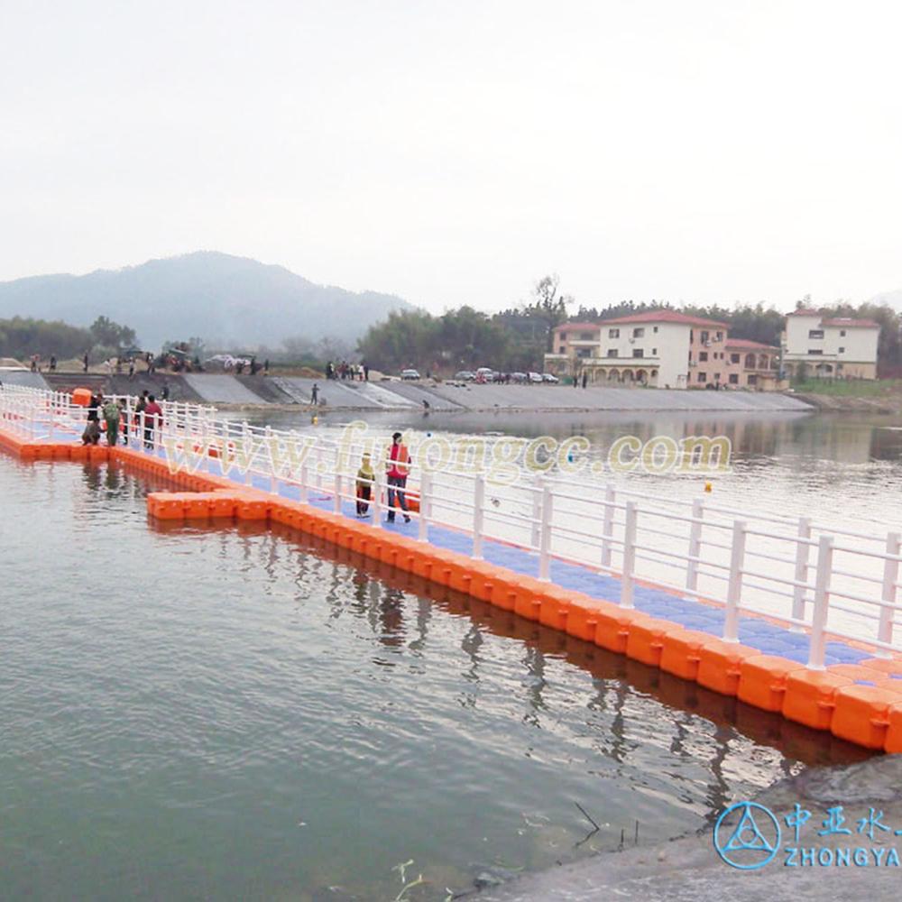 江西靖安浮桥