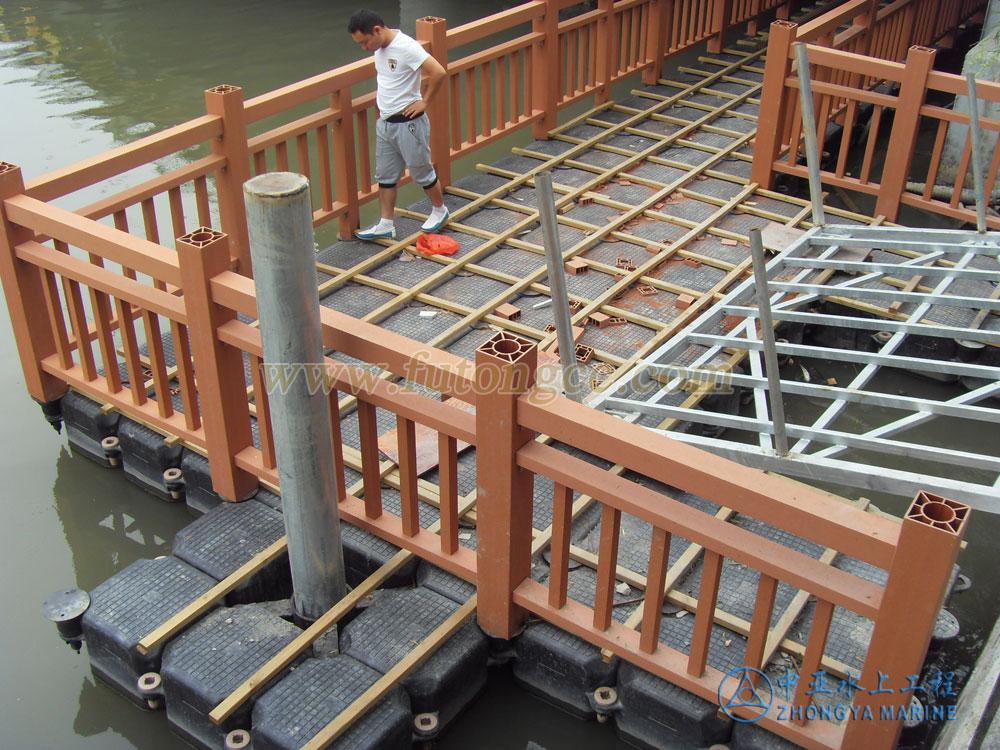温州划龙新桥浮桥8月完工