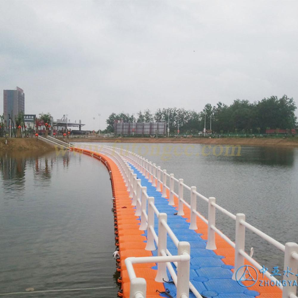 河南商丘中华槐园浮桥