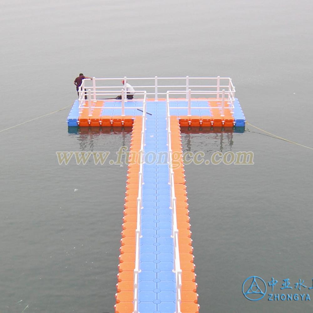 千岛湖开元度假区T型水上延伸平台