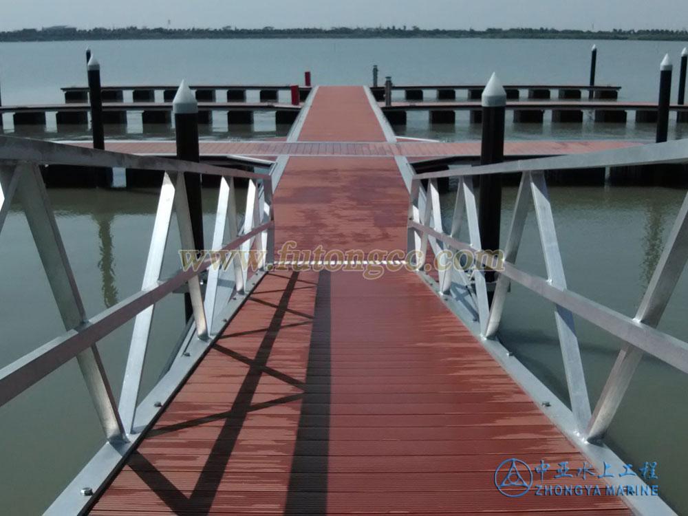 常州西太湖游艇码头正式竣工