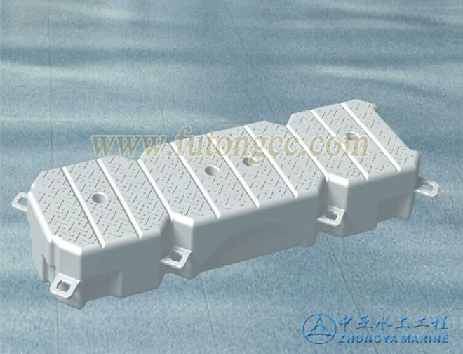 Water photovoltaic channel buoy