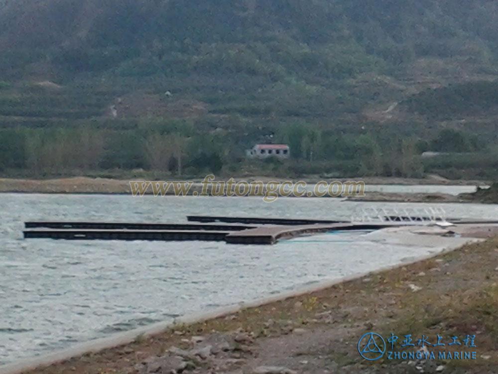 山东烟台长春湖码头已完工