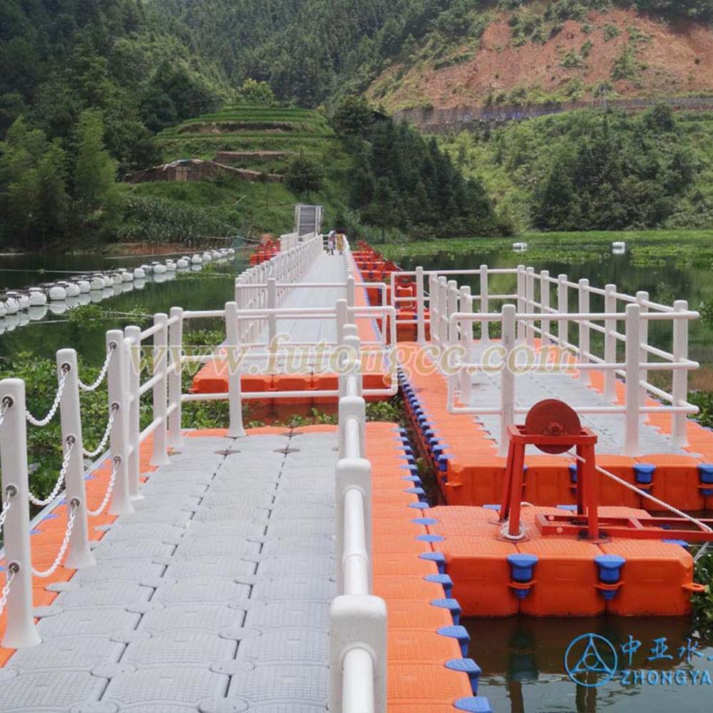 贵州锦屏浮桥