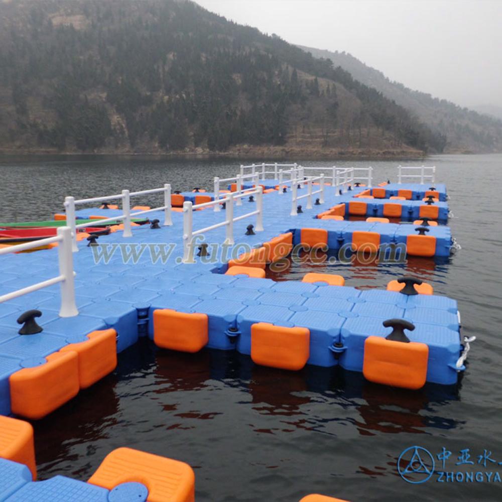 济南路亚钓基地浮动码头