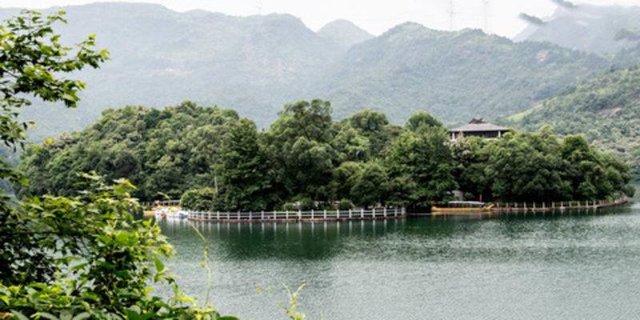 2015年开门红-桐溪景区水上浮桥中标