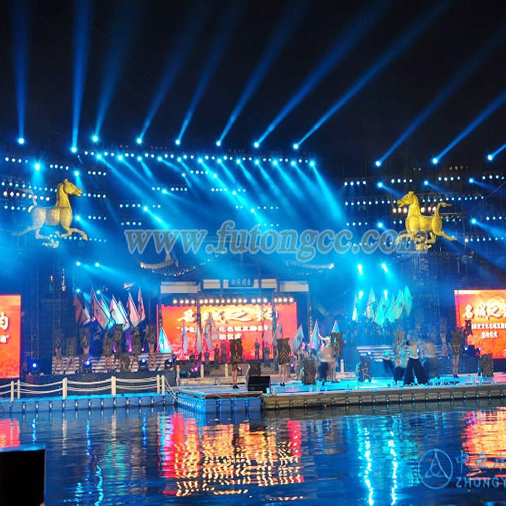 南京白鹭洲水上舞台
