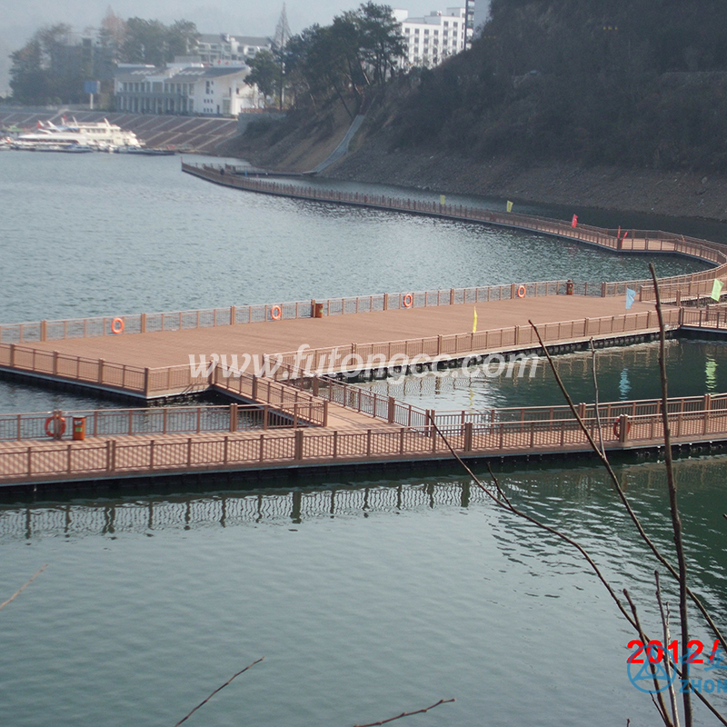 黄山太平湖景观木栈道