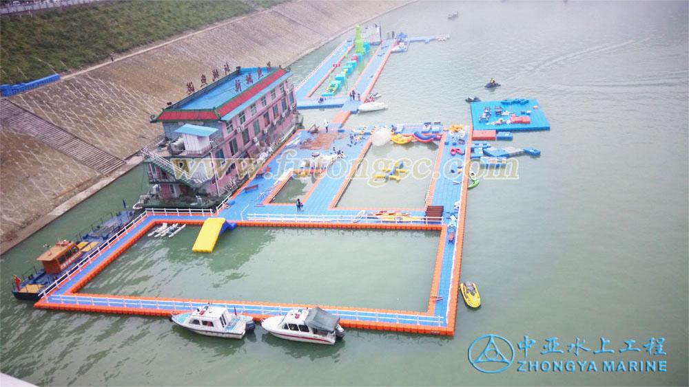 重庆彭水水上游泳池