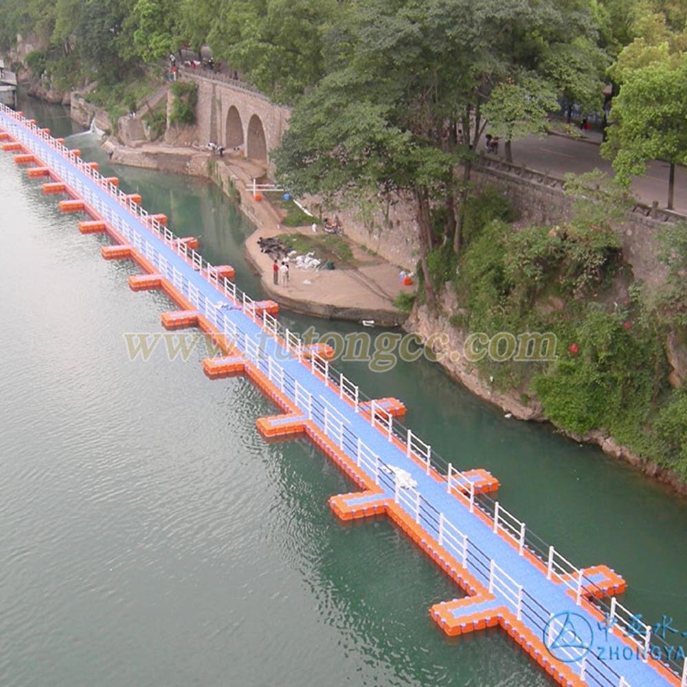 湖南永修零陵区交通浮桥