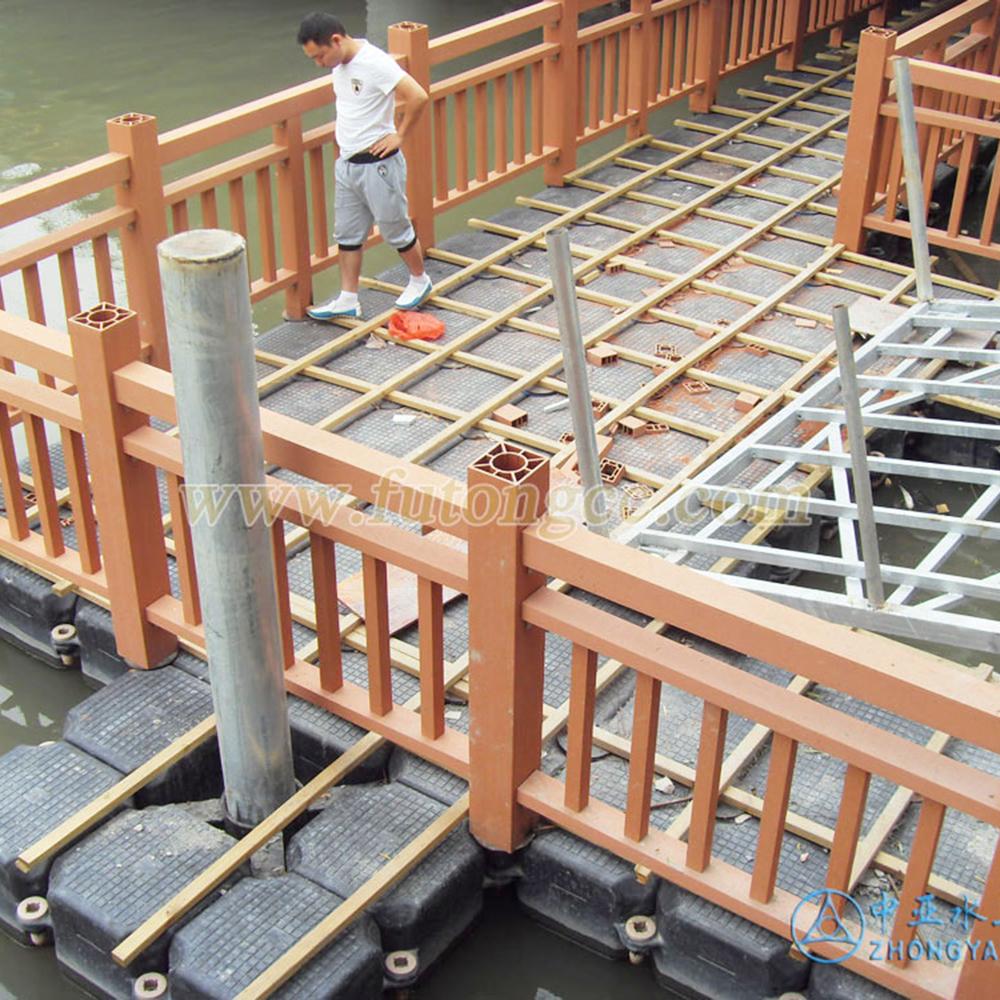 温州划龙新桥浮桥