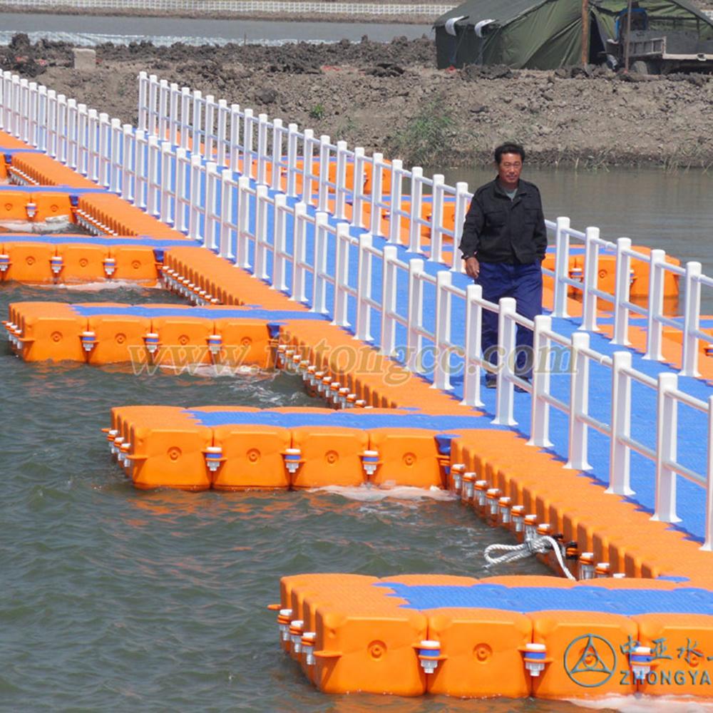 天津七里海湿地浮桥