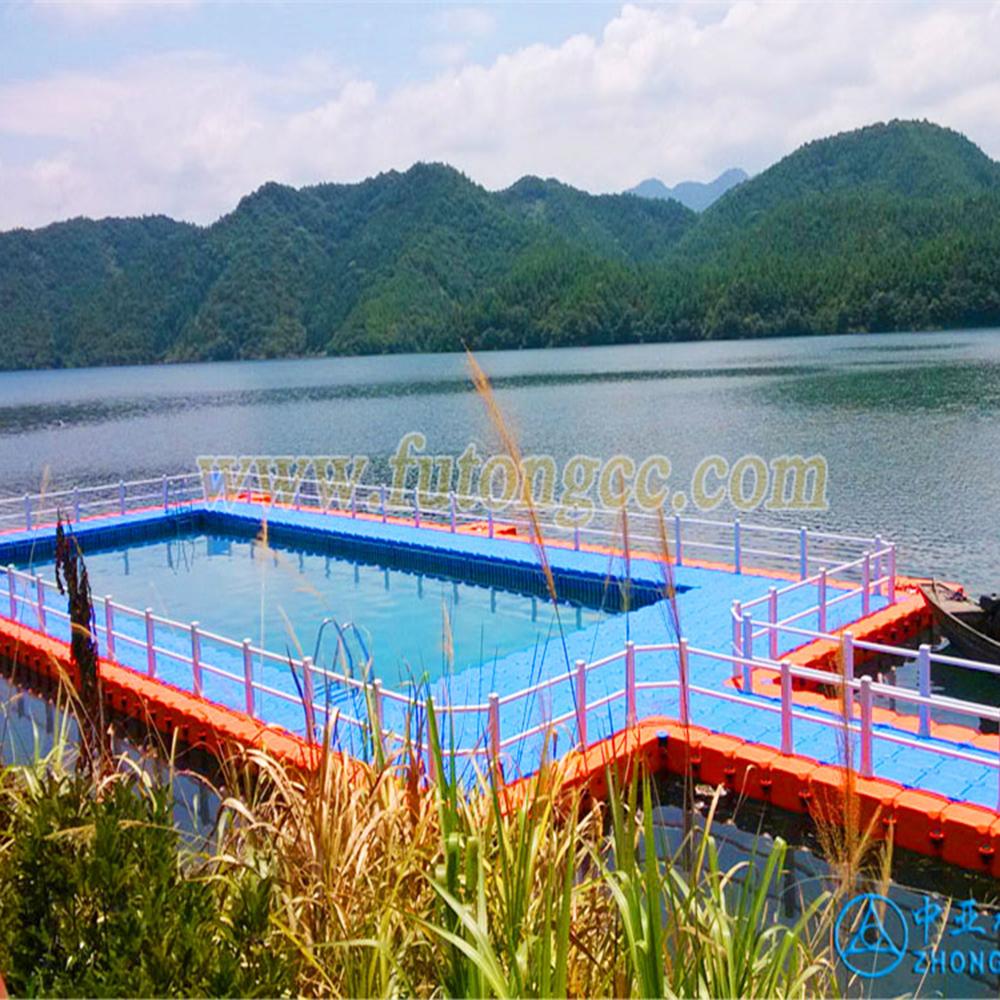 杭州千岛湖水上游泳池