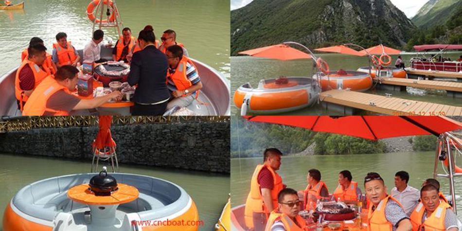 水上旅游项目- 烧烤船