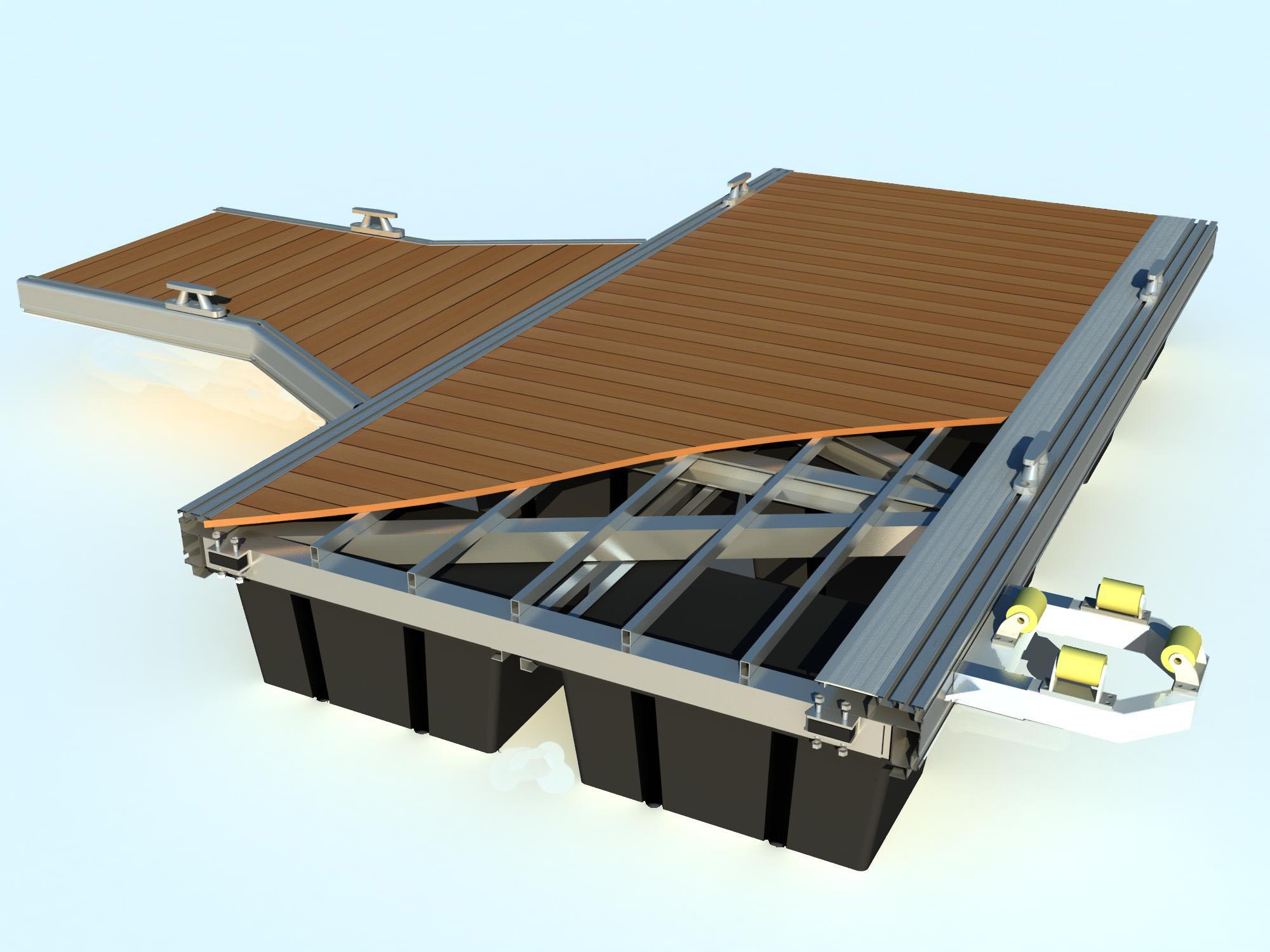 浮箱钢结构